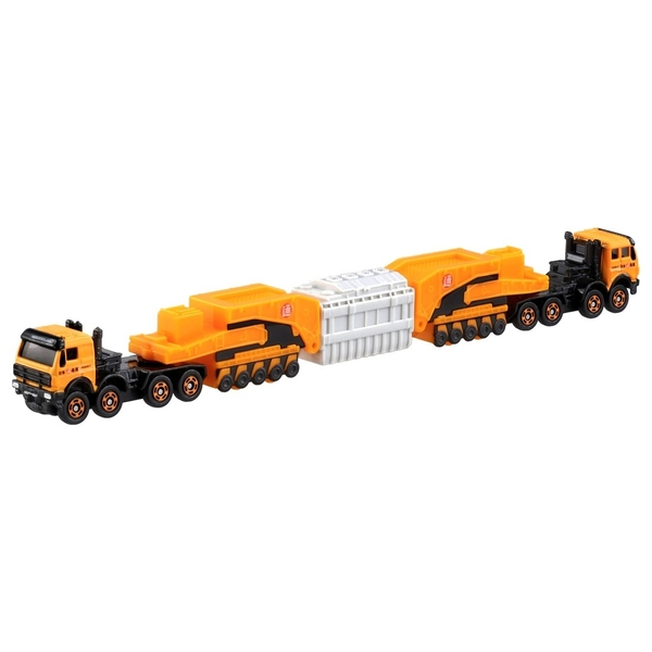 【 TOMICA 火柴盒小汽車 】NO.127 賓士4850壓路機 / JOYBUS玩具百貨