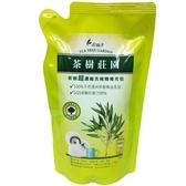 茶樹莊園茶樹超濃縮洗碗精補充包700g【愛買】
