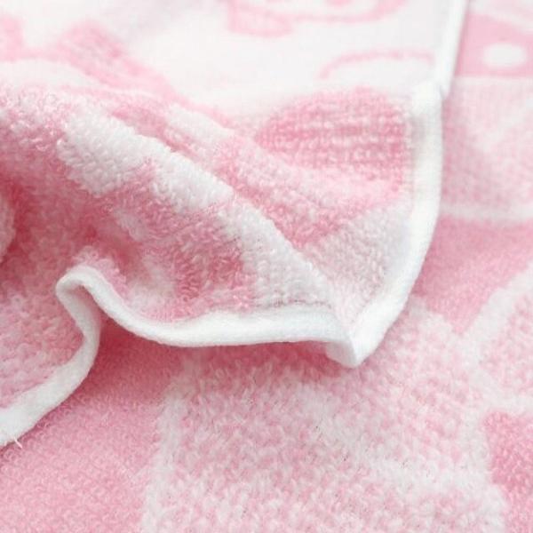 小禮堂 美樂蒂 抗菌短毛巾 34x36cm (粉滿版款) 4992272-73793