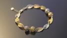 晴日小舖 gold ITALY 585 K金 手環 [ kb 051 ]-0.96