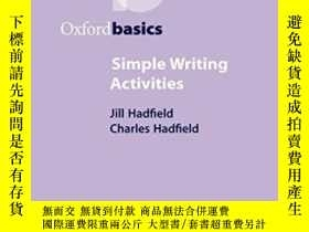 二手書博民逛書店Simple罕見Writing ActivitiesY364682 Hadfield, Jill  Hadfi