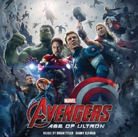 復仇者聯盟2 奧創紀元  電影原聲帶 CD OST  (購潮8)