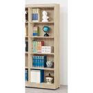 【森可家居】法克橡木2.6尺開放書櫃 8SB236-9 木紋質感  收納 無印北歐風 MIT台灣製造
