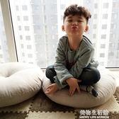 亞麻蒲團坐墊 加厚圓形大號布藝地板打坐日式陽台飄窗榻榻米坐墊 美物生活館