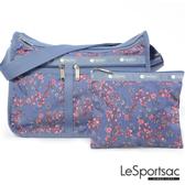 LeSportsac - Standard雙口袋A4大書包-附化妝包 (雷麗蘭/靛藍色) 7507P F425