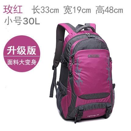 限定款登山背包 旅遊背包男旅行包大容量後背包休閒旅行背包女輕便防水戶外登山包