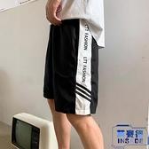 短褲男寬松中性風運動中褲子五分褲情侶沙灘褲夏季【英賽德3C數碼館】