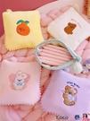 熱賣收納包 韓國少女心月事包姨媽巾包可愛學生便攜迷你小巧衛生巾收納包 coco