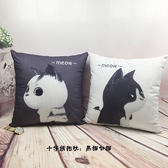 刺繡抱枕十字繡情侶抱枕一對簡單繡卡通臥室枕頭現代客廳沙發靠墊 【萬聖節八五折鉅惠】