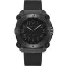 天能 電影曝光款 Hamilton 卡其海軍鈦金屬1000米潛水機械腕錶-46mm H78505330