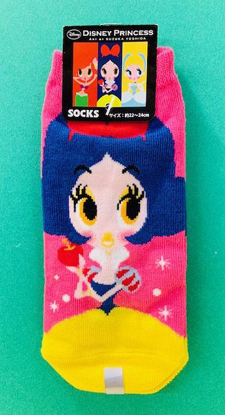 【震撼精品百貨】白雪公主七矮人_Snow White~迪士尼公主成人襪子-桃#11480