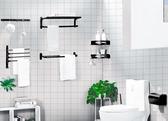 衛生間置物浴室置物毛巾架免打孔壁掛式浴巾廁所