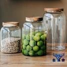 密封罐帶蓋大容量玻璃瓶陳皮咖啡雜糧儲物罐子【古怪舍】