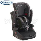 GRACO Airpop 幼兒成長型輔助汽車安全座椅/汽座 -繽紛彩 黑色BK