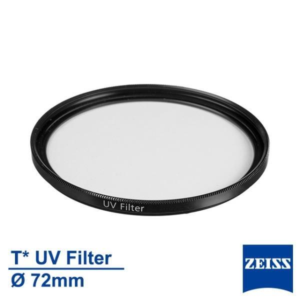 【南紡購物中心】Zeiss 蔡司 Filter T* UV 72mm 多層鍍膜 保護鏡