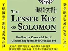 二手書博民逛書店【罕見】The Lesser Key Of SolomonY27248 Peterson, Joseph H.