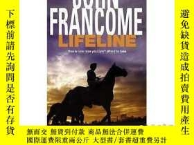 二手書博民逛書店Lifeline:罕見A page-turning racing thriller a...-生命線:翻頁賽車驚悚