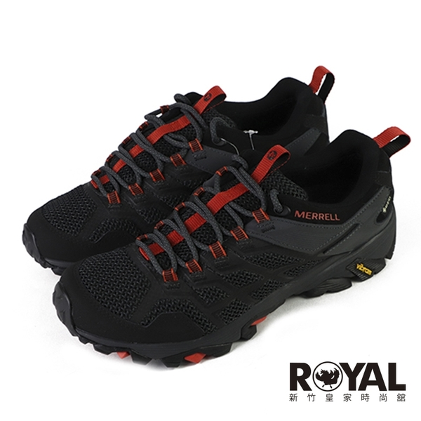 Merrell Moab Fst 黑色 防水 網布 健行用運動鞋 男款 NO.B1793【新竹皇家 ML77443】