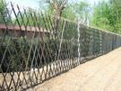 圍欄 180*300天然竹籬笆