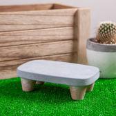 自然生活圓板凳造型植物架H5-生活工場