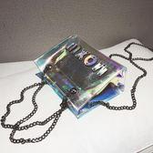 透明果凍包鐳射潮百搭斜挎 3色