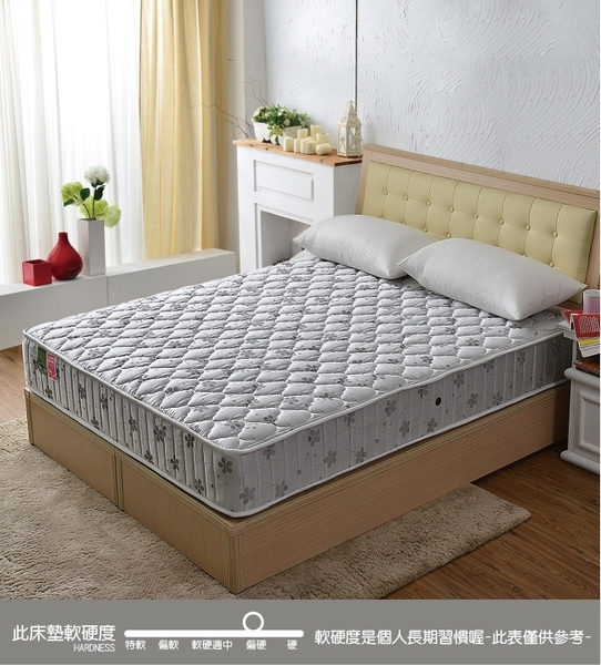床墊 獨立筒 睡芝寶-竹碳抗菌除臭防潑水蜂巢獨立筒床墊-雙人5尺-破盤價$5500-原價7999