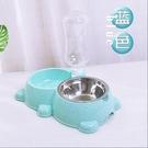 寵物餵食器狗狗飲水器自動餵食器狗飯盆泰迪...