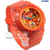 Baby-G BGA-190-4B 旅行時光BGA-190-4BDR 海灘+電子錶 女錶 橘 CASIO卡西歐 橘色 運動錶