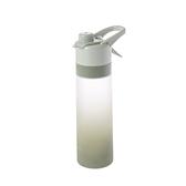 極限噴水型直飲水瓶650ml-綠