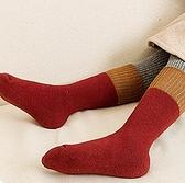 女童襪子 春季純棉加厚加絨毛圈毛巾襪女童堆堆寶寶男童中長筒襪【快速出貨八折優惠】