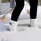 優一居 雪靴 加厚 防水 防滑 保暖 雪地靴 中筒短靴 加絨棉鞋