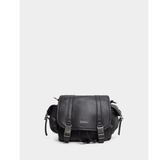 真皮包包-R&BB牛皮*質感抽繩多WAY手提&斜肩背書包/相機包-黑色