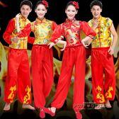 民族秧歌服男女款舞龍舞獅隊打鼓服