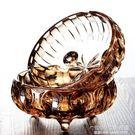 煙灰缸 歐式水晶玻璃煙灰缸創意家用個性客廳大號潮流煙缸家居用品擺件 1995生活雜貨