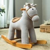 哈喜屋木馬 兒童搖搖馬搖椅寶寶嬰兒玩具實木音樂一周歲節日禮物  免運快速出貨