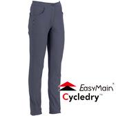 EasyMain 衣力美 RE16054-70灰  女 彈性防風保暖休閒褲