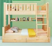 上下床雙層床高低床全實木兩層兒童床子母床大人雙人床上下鋪木床