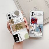 潮牌ins標籤插畫 三星 A52 A42 A31 M12 M11 A71 A51 5G A21S A50/A30S 透明手機殼