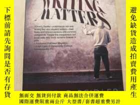 二手書博民逛書店WRITING罕見MATTERS PETER G.BEIDLER SECOND EDITIONY315593