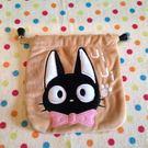 【發現。好貨】宮崎駿魔女宅急便黑貓KIKI束口袋 收納袋 行動充收納包 束口包