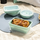 輕巧摺疊餐盒700ml-薄荷綠-生活工場