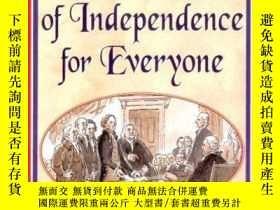 二手書博民逛書店The罕見U.s. Declaration Of Independence For EveryoneY2562