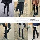 孕婦裝 MIMI別走【P61179】今天的造型需要它呢 日本立體托腹設計 彈力萊卡棉孕婦褲襪 孕婦褲