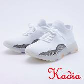 kadia .編織襪套 鞋9528 18 白色