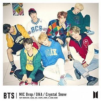 BTS防彈少年團 MIC Drop/DNA/Crystal Snow CD附Photobook 初回C盤 免運 (購潮8)