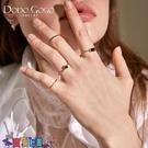戒指女 小眾設計戒指女網紅時尚個性關節戒四件套組合簡約氣質指環手飾品新品