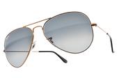 RayBan 太陽眼鏡 RB3025 19771 (金) 經典百搭款 飛官墨鏡 # 金橘眼鏡