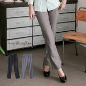 加大尺碼--簡潔俐落感口袋排釦裝飾西裝褲(黑.灰XL-7L)-P98眼圈熊中大尺碼◎