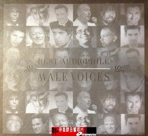 【停看聽音響唱片】【CD】BEST AUDIOPHILE  MALE VOICES