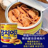韓國Murgerbon 鮪魚罐油漆桶魚片250g